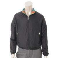 ストゥディオス メンズ リバーシブル ジャケット ブルゾン マルチカラー×ブラック XXS