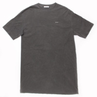 2017 ミニロゴ Tシャツ トップス グレー XS