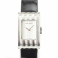 リフレ スモール クォーツ 腕時計 ブラック×シルバー
