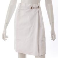 タック スカート ホワイト 36