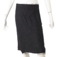 シャギー スカート ブラック 36