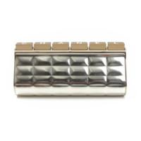 希少 メタリックレザー クラッチバッグ ゴールド 定価約250万