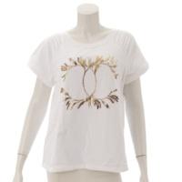 18C ココマーク ラグラン Tシャツ スウェット P57840 ホワイト S