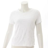 98P 半袖 カメリア ココマーク Tシャツ P11126 ホワイト 44