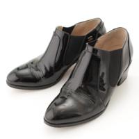 エナメル ショートブーツ G30157 ブラック 35