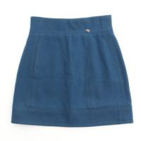 ACT2 ブルーグリーン ウール スカート