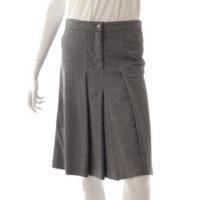 ココマーク ウール フレアスカート 05A グレー