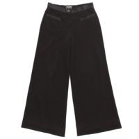 ココマーク レーヨン ワイドパンツ 05A ブラック