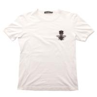メンズ ハチ 刺繍 Tシャツ カットソー ホワイト 44