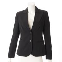 テーラードジャケット ブラック 6