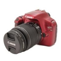 キャノン Canon EOS Kiss X50 デジタル一眼レフカメラ レンズキット レッド