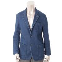 トレンタオット TRENTA OTTO メンズ テーラードジャケット ブルー 46