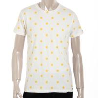 ラブレス メンズ スマイルマーク Tシャツ トップス ホワイト