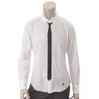 ラブレス ネクタイ シャツ ホワイト 1