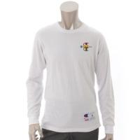 シュプリーム×チャンピオン 17AW ロングTシャツ ホワイト S