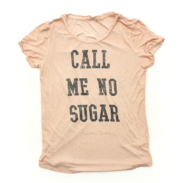 メゾンスコッチ MAISON SCOTCH ロゴ Tシャツ ピンク