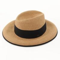 フローレンス Florence ペーパー パイピング ハット 帽子 35598 ブラック