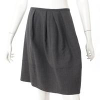 マカロンシック タック スカート 32107 グレー 40