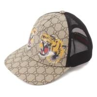 タイガー プリント GGスプリーム メッシュ ベースボールキャップ 帽子