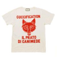 18SS Il Prato di Ganimede Guccification プリント Tシャツ 492347 ホワイト L