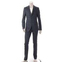 メンズ スーツ ジャケット スラックス セットアップ ネイビー 7-44C