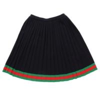 キッズ ウール スカート 519020 ネイビー 12