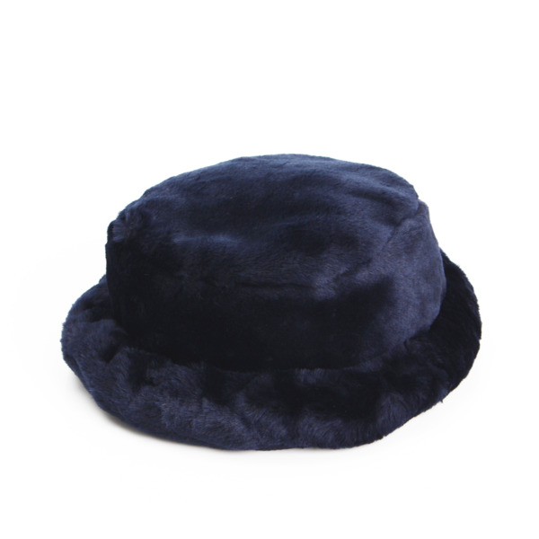 子供用帽子 ハット ネイビーファー