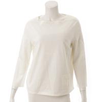 2017年 スクエアネック 香水瓶 Tシャツ カットソー オフホワイト