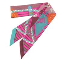 2014年 ツイリー シルクスカーフ GRANDE TENUE 王冠とロープ柄
