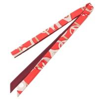 ツイロン シルク スカーフ 「彼女と」 ノベルティ 非売品