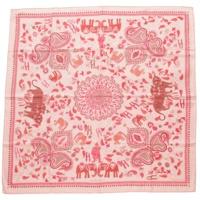 カレ90 シルクスカーフ CARRE KANTHA カレカンタ ピンク