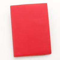 アジェンダ グローブトロッター レザー 手帳カバー □F刻 レッド