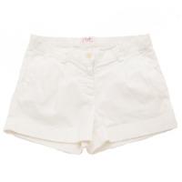 キッズ 子供服 ショートパンツ ホワイト 10A