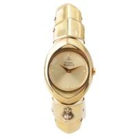アーマーウォッチ クオーツ 腕時計 SV925 イエローゴールド