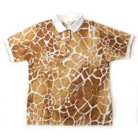 スポーツ ジラフ ポロシャツ カットソー ブラウン