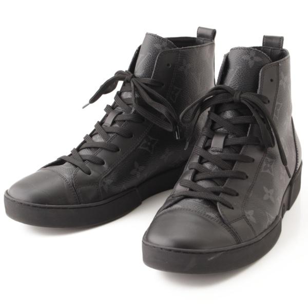 マッチアップライン モノグラムエクリプス スニーカー ブーツ 1A2R69 ブラック 5