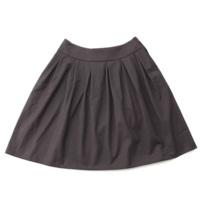 ダブルタック スカート 33941 グレー