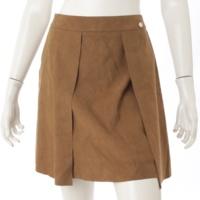 スエード スカート 32362 ブラウン 38