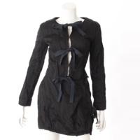 ジャケット スカート セットアップ ブラック 36