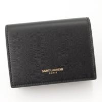 グレインレザー カードケース 375948 ブラック