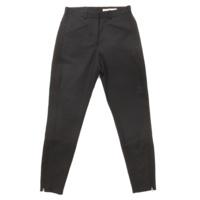 モヘヤ混 パンツ ブラック 36