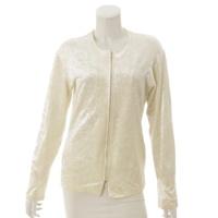 ベロア ジャケット ホワイト M